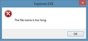 How to Fix 'File Path Too Long' Error While Copying, Deleting or Opening Files, Without Using Third Party Applications (2/6)