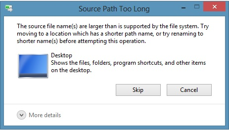 How to Fix 'File Path Too Long' Error While Copying, Deleting or Opening Files, Without Using Third Party Applications (3/6)