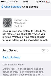 Chat Backup