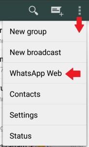 Setting Up Whatsapp Web Vimalsuresh